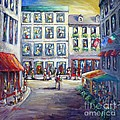 Street In Old Montreal by Cristina Stefan