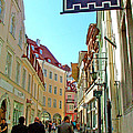 Street In Old Town Tallinn-estonia by Ruth Hager
