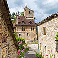 Street In Saint-cirq-lapopie by Semmick Photo