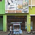 Street In Surabaya Indonesia by Jacek Malipan