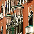 Street Lamps Of Venice by Ira Shander