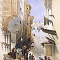 Street Leading To El Azhar, Grand by A. Margaretta Burr