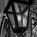 Street Light In Black And White by John McGraw