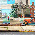 Street Mural by Dave Mills