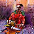 Street Musician In Marrakesh 01 by Miki De Goodaboom