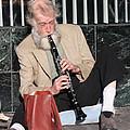 Street Musician by John Telfer
