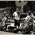 Street Musicians 2 by Sennie Pierson