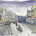 Street Scene - Capitol Theatre by Shirley Stirling