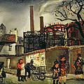 Street Scene In Paris, 1926 by Christopher Wood