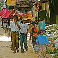 Street Scene In Tachilek-burma by Ruth Hager