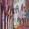Street Scene Italy by Phyllis Brady