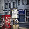 Street Scene With Coke Machine No. 2110 by Randall Nyhof