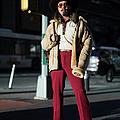Street Style - New York City - February by Matthew Sperzel