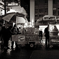 Street Vendor Row by Miriam Danar