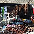 Street Vendor Selling Rosaries by Amy Cicconi