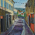 Street View From Provence by Raija Merila