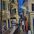Street View Provence 2 by Raija Merila