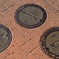 Street Water Covers by Bill Owen