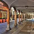 Street With Arches And Columns by Mats Silvan