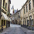 Streets Of Brugges 2 by Crystal Nederman