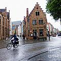 Streets Of Brugges 3 by Crystal Nederman