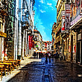 Streets Of Lisbon 1 by Mary Machare