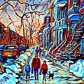 Streets Of Montreal by Carole Spandau