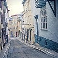 Streets Of Old Quebec City by Edward Fielding