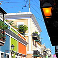 Streets Of Old San Juan by Bryan Noll