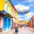 Streets Of San Cristobal De Las Casas - Colorful Mexico by Mark Tisdale