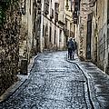 Streets Of Segovia by Joan Carroll