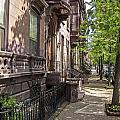 Streets Of Troy New York by Eric Swan