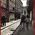 Streets Of York by Joan-Violet Stretch