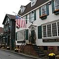 Streetscene Newport  -  Rhode Island by Christiane Schulze Art And Photography