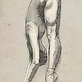 Stretch En Pointe by H James Hoff
