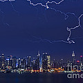 Strikes And Bolts In Nyc by Susan Candelario