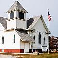 Stringtown Community Church by Edward Peterson
