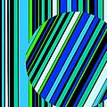Striped Circle  C2014 by Paul Ashby
