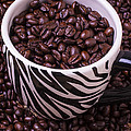 Striped Coffee Cup by Garry Gay