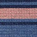 Striped Crochet Cloth by Kerstin Ivarsson