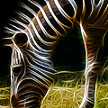 Striped Fractal by Ricky Barnard
