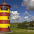 Striped Lighthouse by Heiko Koehrer-Wagner