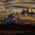 Striped Sky Over The Patagonia Spikes by Peter Svoboda, Mqep