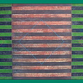 Striped Triptych No.5.03 by Peter-hugo Mcclure