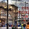 Strolling Towards The Market - Seattle Washington by David Patterson