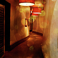 Strong Wine Wavy Walls by Paulette B Wright