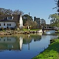 Stroudwater Canal Stonehouse by Ron Harpham