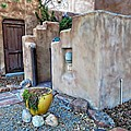 Stucco Condo In Santa Fe by Carrie OBrien Sibley