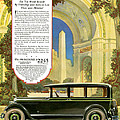 Studebaker Big Six - Vintage Car Poster by World Art Prints And Designs