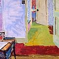 Studio Space, Ivor Street, Nw1 Oil On Canvas by Brenda Brin Booker
